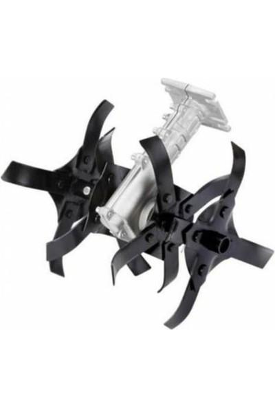 Assur Pro Plus CV9600 Tırpan 6.9 Hp Sjs Metal Yan Tipi Ot Çim Çalı Biçme Tırpanı + Çapa Aparatı