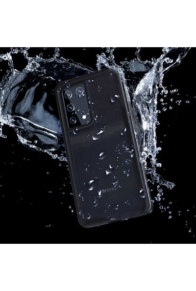 Wowlett Samsung Galaxy S21 Ultra Su Geçirmez Dayanıklı Waterproof Kılıf Kapak