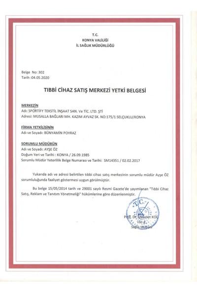 Medical Cottomask Yeni Nesil Full Ultrasonic 50 Li Kutu Spunbond - Mavi