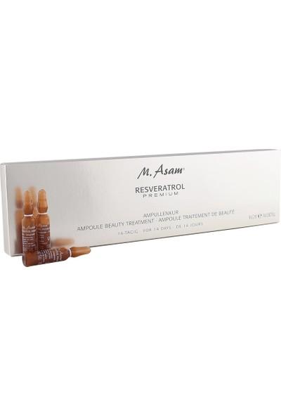 M.Asam M.asam Resveratrol Premium Ampoule Beauty Treatment 14X2 ml