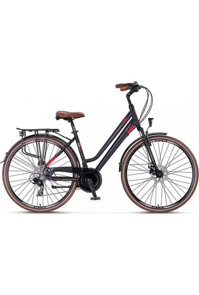 Ümit Ventura 28 Jant H.disk 43'' Bayan Şehir Bisikleti Syh-Kırmı