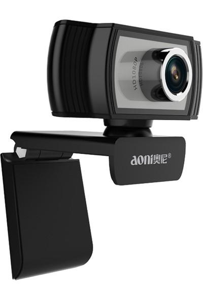 Sunsky Aoni C33 Güzellik Fhd 1080P Iptv Webcam Siyah (Yurt Dışından)