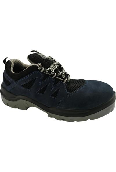 Hds Trigon X-10 Mavi Bağcıklı Süet Iş Ayakkabısı