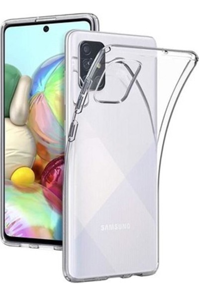 Mopal Samsung A71 Şeffaf Silikon Kılıf