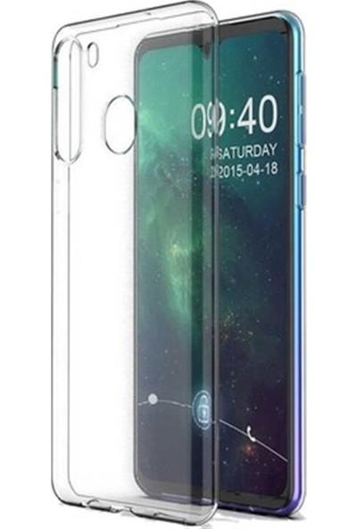 Mopal Samsung A21 Şeffaf Silikon Kılıf
