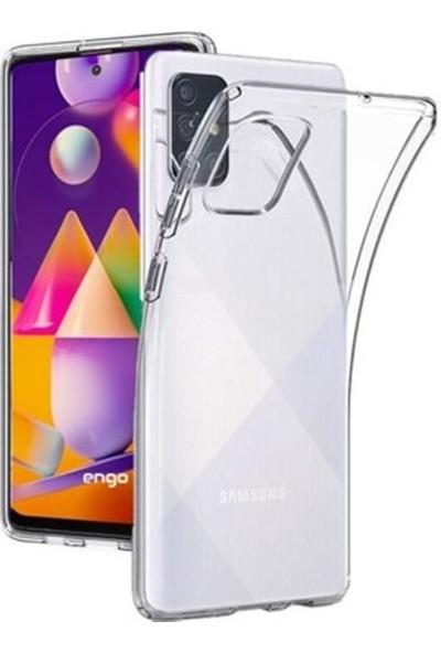 Mopal Samsung M31S Şeffaf Silikon Kılıf