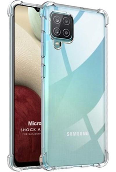 Mopal Samsung A12 Şeffaf Silikon Kılıf