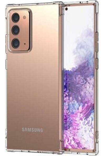Mopal Samsung Note 20 Şeffaf Silikon Kılıf