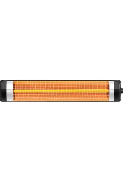 Minisan Blackline 3000WATT Infrared Isıtıcı Elektrikli Soba Isıtıcı Duvar