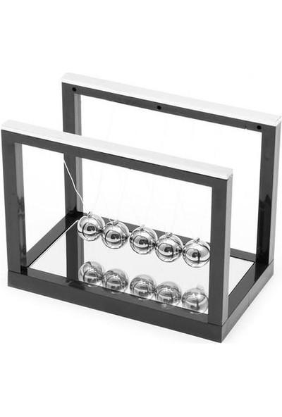 Kastore Newton Çarpışan Denge Topları Dekoratif Newton Balans Beşiği