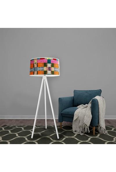 Bebişim Halı Patchwork Dekoratif Modern Lambader