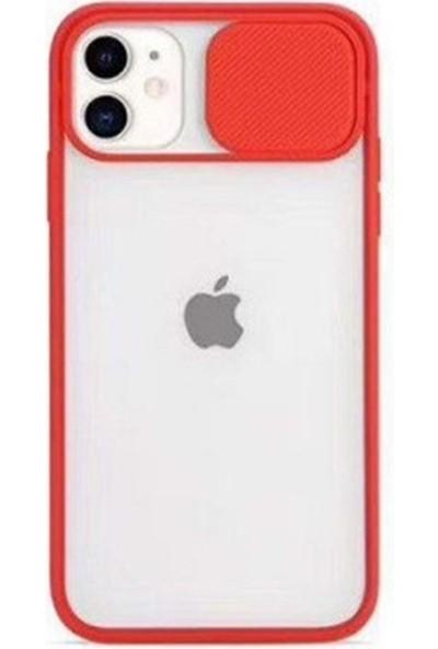 Air Jacket Kamera Korumalı Iphone 7g/8g/se 2020 Kılıf - Kırmızı