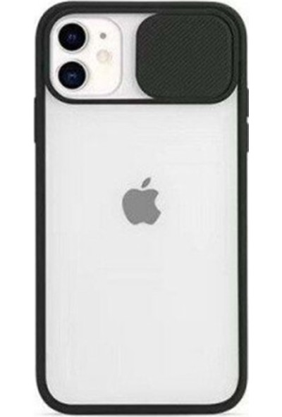 Air Jacket Kamera Korumalı Iphone 7g/8g/se 2020 Kılıf - Siyah