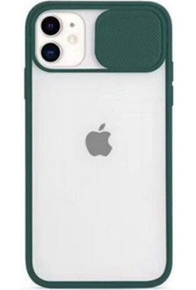 Air Jacket Kamera Korumalı Iphone 7g/8g/se 2020 Kılıf - Yeşil