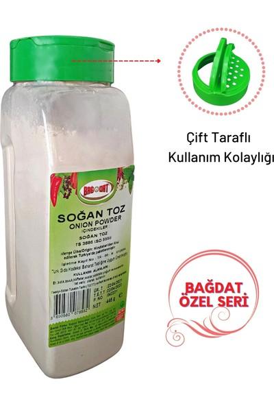 Bağdat Soğan Toz 445 gr - Tuzluk Kapak Pet Kavanoz Özel Seri