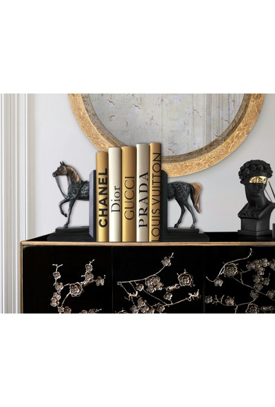 Trend Avm Kitap Tutucu Dekoratif At Figürlü Biblo