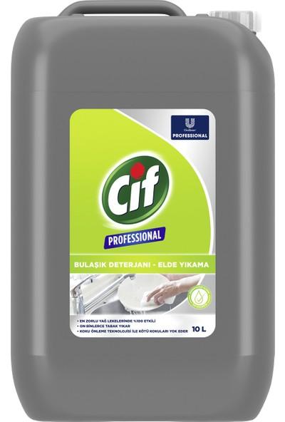 Cif Professional Bulaşık Deterjanı Elde Yıkama 10 Lt