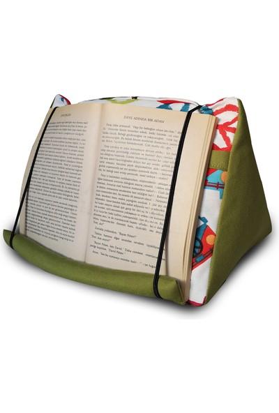 Yedi Kedi Peace Cepli Kitap Tablet Yastığı