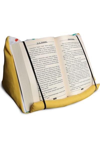 Yedi Kedi Akvaryum Cepli Kitap Tablet Yastığı