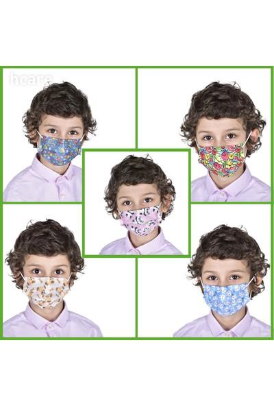 Hcare Type Iır Rengarenk Medikal Maske 50'li