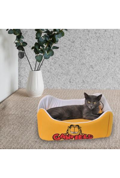 Garfield Pet Yatağı & Minderi Sarı