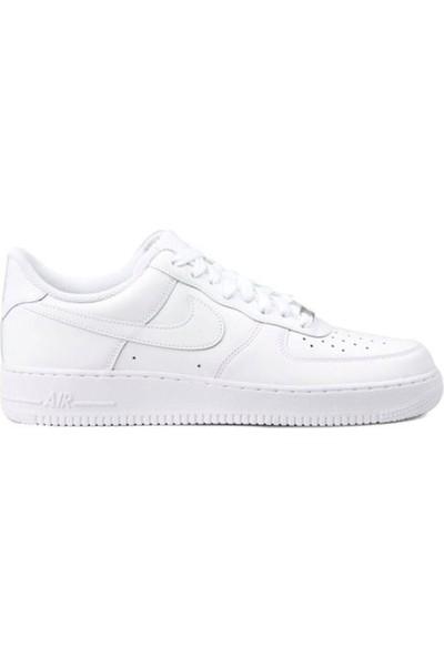 Nike 315122-111 Air Force 1 '07 Genç Beyaz Günlük Spor Ayakkabı