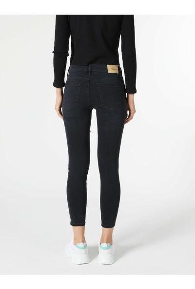 Colin's 759 Lara Orta Bel Dar Paça Super Slim Fit Jean Kadın Jean Pantolon
