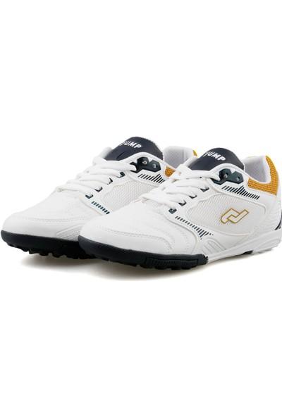 Jump B White Neon Yellow Navy Çocuk Günlük Ayakkabı 26621--B-WHITE-NEON-YELLOW-NAVY Beyaz