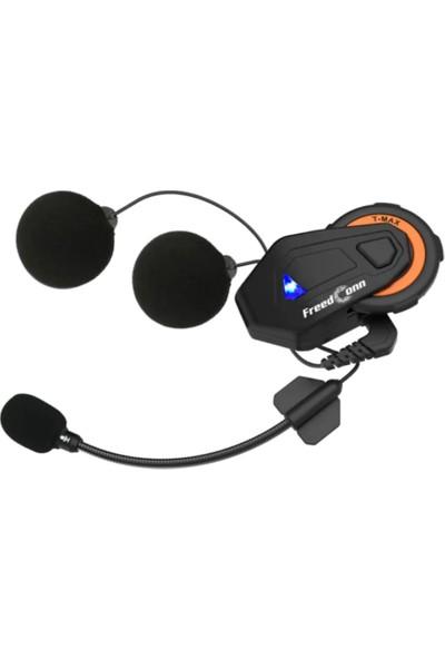 Freedconn T-Max 1000M Bluetooth Motosiklet Intercom Kulaklık