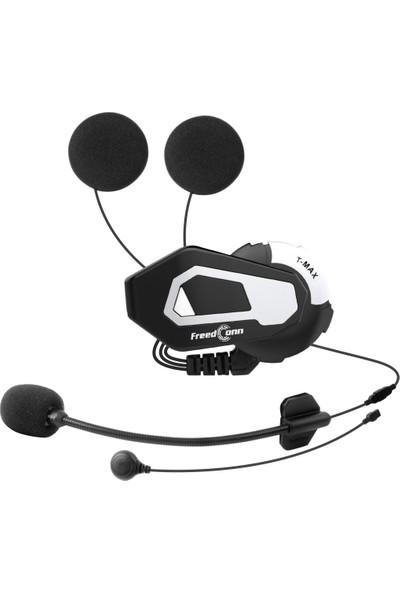 Freedconn Tmax-S 1000M Bluetooth Motosiklet Intercom Kulaklık