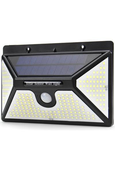 Xyanling 218 LED 3000LM Güneş Kızılötesi Hareket Sensörü Duvar Işık Açık Bahçe Işık Su Geçirmez Lambalar Güvenlik Lambası