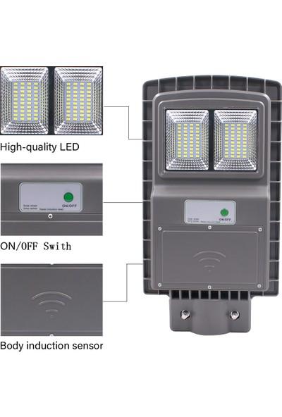 Xyanling 30W Kollu Güneş Enerjili Sokak Lambaları, Radar Sensörü ve Işık