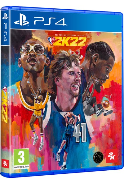Take 2 Nba 2K22 75TH Anniversary Edition Ps4 Oyun