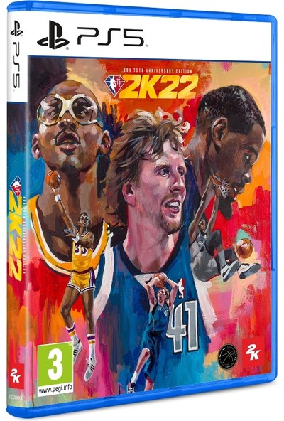 Take 2 Nba 2K22 75TH Anniversary Edition Ps5 Oyun