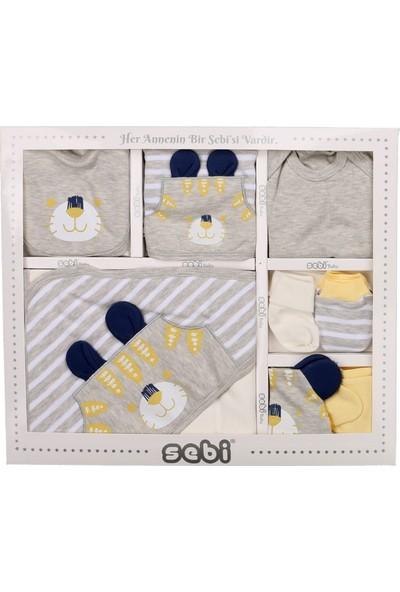 Sebi 9175 Sarı Erkek Bebek Kaplan 10'lu Hastane Çıkışı