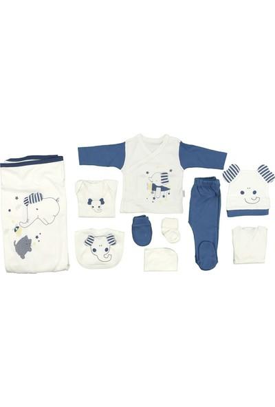 Sebi 9179 Lacivert Erkek Bebek Filli 10'lu Hastane Çıkışı