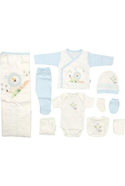 Sebi 9180 Açık Mavi Erkek Bebek 10'lu Hastane Çıkışı