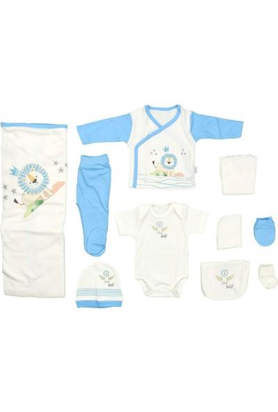 Sebi 9180 Mavi Erkek Bebek 10'lu Hastane Çıkışı