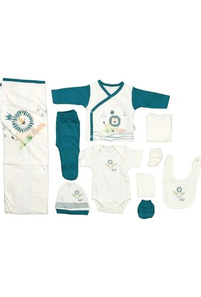 Sebi 9180 Yeşil Erkek Bebek 10'lu Hastane Çıkışı