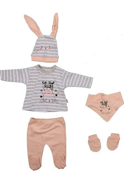 Sebi 1033 Somon Tavşanlı Kız Bebek 5'li Hastane Çıkışı