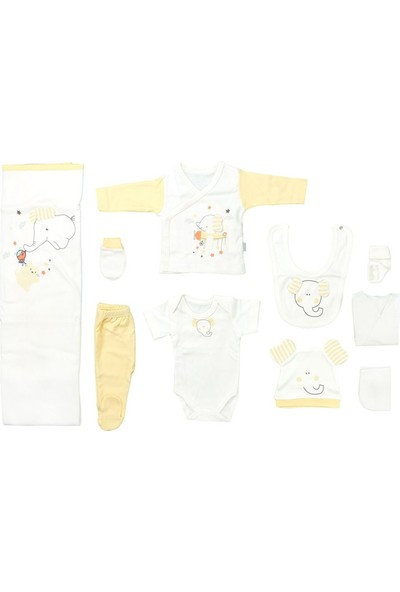 Sebi 9179 Sarı Bebek Filli 10'lu Hastane Çıkışı