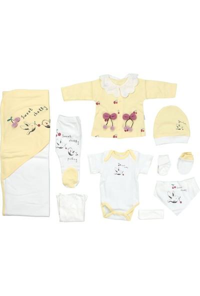 Sebi 9181 Sarı Kız Bebek 10'lu Hastane Çıkışı