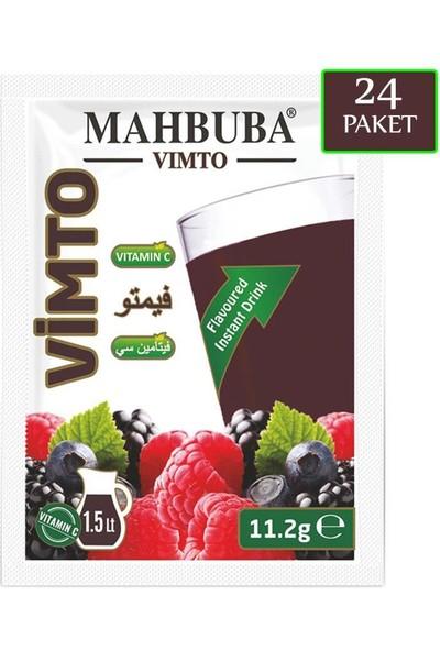 Mahbuba Vimto Orman Meyveli Aromalı Toz İçecek 24x11.2gr Soğuk Veya Sıcak Tüketilebilir