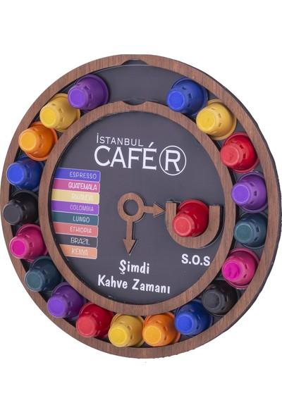Istanbul Cafer Stand + 80 Adet Nespresso Uyumlu Kapsül Kahve