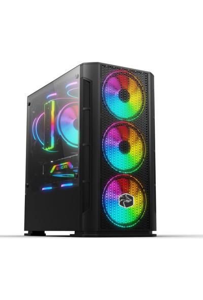 Zeiron Esc X90 İ5-3470 16GB 240GB Ssd+1TB HDD RX550 4GB Oyuncu Pc