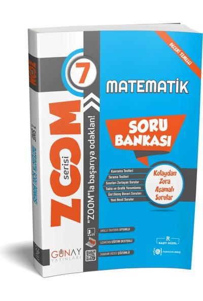 Günay Yayınları 7. Sınıf Zoom Matematik Soru Bankası