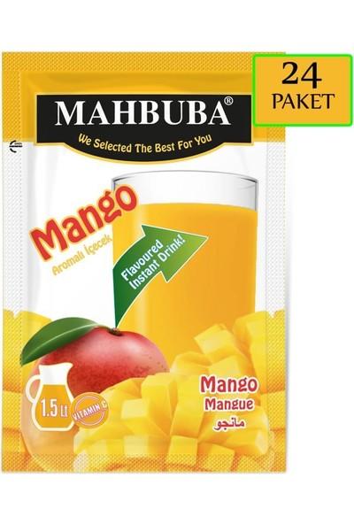 Mahbuba Mango Aromalı Toz İçecek 24x9gr Soğuk Veya Sıcak Tüketilebilir