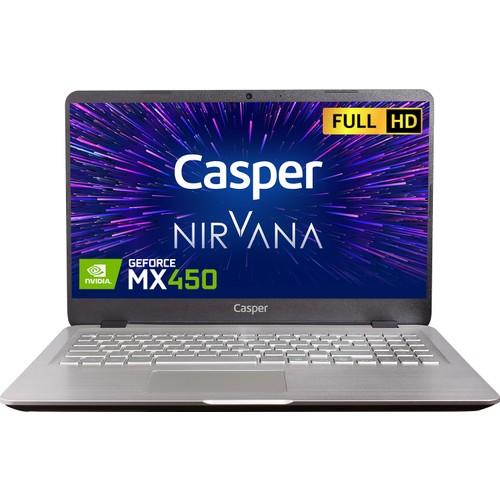 """Casper Nirvana S500.1135-8V50X-G-F Intel Core i5 1135G7 8GB 500GB SSD MX450 Freedos 15.6"""" Taşınabilir Bilgisayar"""
