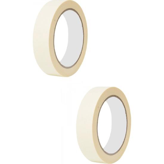 Belsa Home Belsa 2'li Maskeleme Bandı Kağıt Bant Boya Bandı 18 mm x 20 Metre