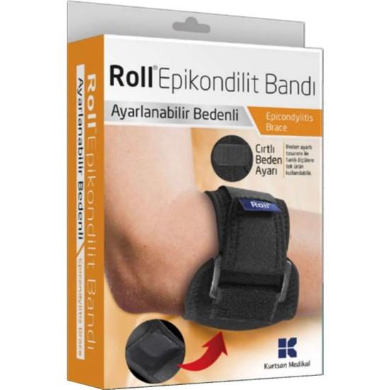 Roll Epikondilit Bandajı Tenisçi Dirsek Bandı Epicondilitis Dirsekliği